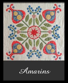 Fûgeltsje quiltpatroon 'Amarins'