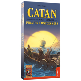 Catan: Piraten & Ontdekkers 5/6 spelers - Bordspel