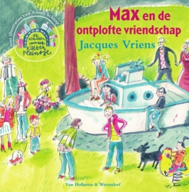 De kinderen van het Kattenpleintje - Max en de ontplofte vriendschap