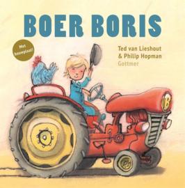 Boer Boris met bouwplaat