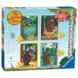 Gruffalo puzzel 4 in a box