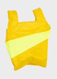 Shopping Bag Helio & Fluo Yellow  - M