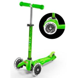 Mini Micro step deluxe groen led