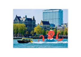 Set van 8x10  Ansichtkaarten Groeten uit Rotterdam