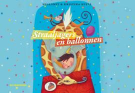 Straaljagers en balonnen vertelplaten