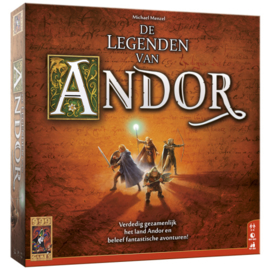 De Legenden van Andor Basisspel - Bordspel