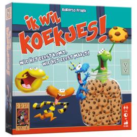 Ik wil koekjes! - Kaartspel
