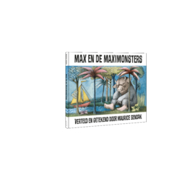 Max en de Maximonsters - leverbaar vanaf 18 juni  -set van 5