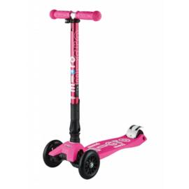 Maxi Micro step deluxe inklaapbaar neon roze
