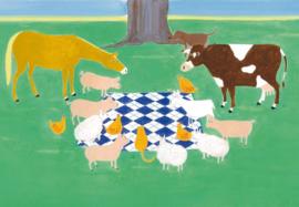 De boer en de dierenarts