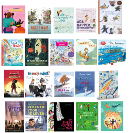 Kerntitels - thematitels kinderboekenweek 2021 CPNB