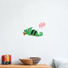 Makii muurstickers Kameleon