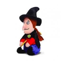 Heks, knuffeltje - stap maar op mijn bezemsteel mini