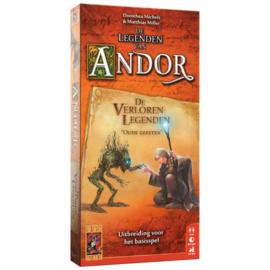 De Legenden van Andor: De Verloren Legenden - Bordspel