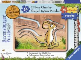 Gruffao puzzel 5 x 2 vormenpuzzel