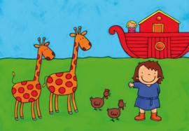 Verhaal van Noah vertelplaten