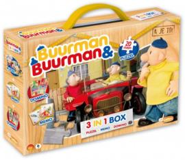 Buurman en Buurman 3 in 1 box 4-6