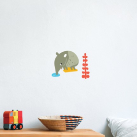 Makii muurstickers Tapir