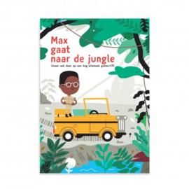 Makii turbo grote kleurplaat Op avontuur in de jungle