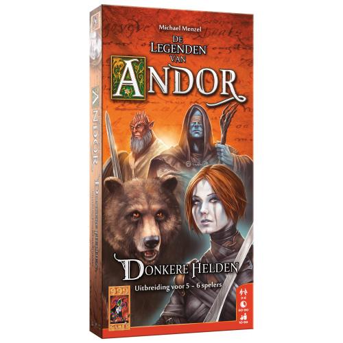 De Legenden van Andor: Donkere Helden 5/6 - Bordspel