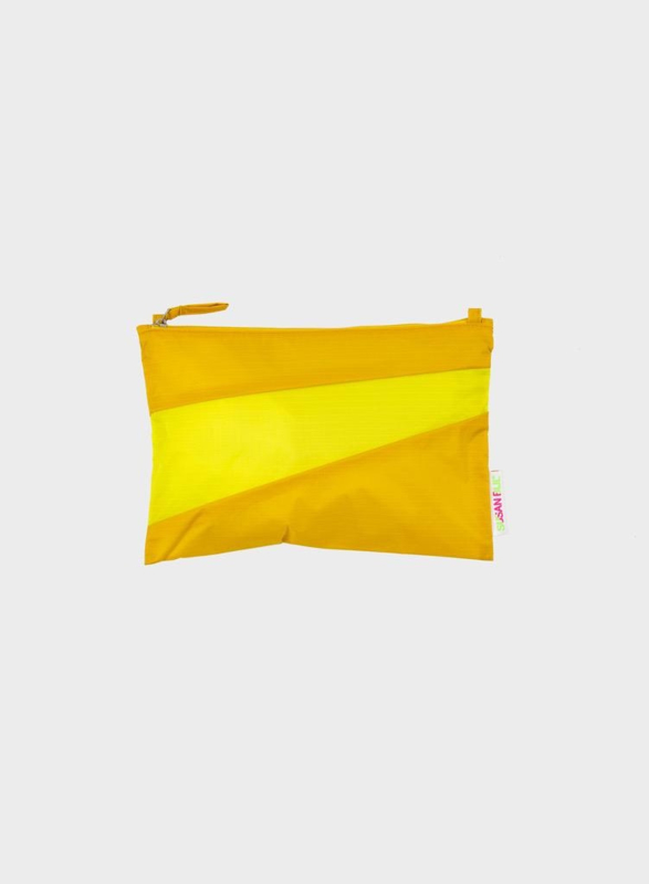 Pouch Helio & Fluo Yellow - S