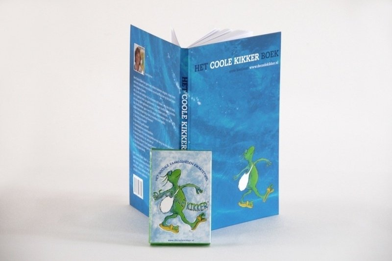 Boek voor kinderen en kwartet spel