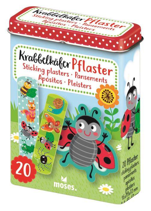 Pleisters insekten in blik 20 stuk