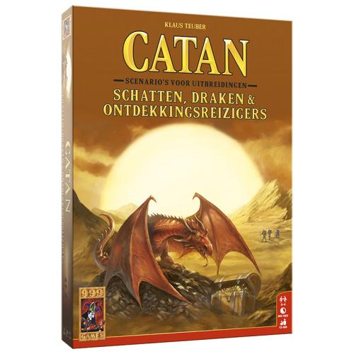 Catan: Schatten, Draken & Ontdekkingsreizigers - Bordspel