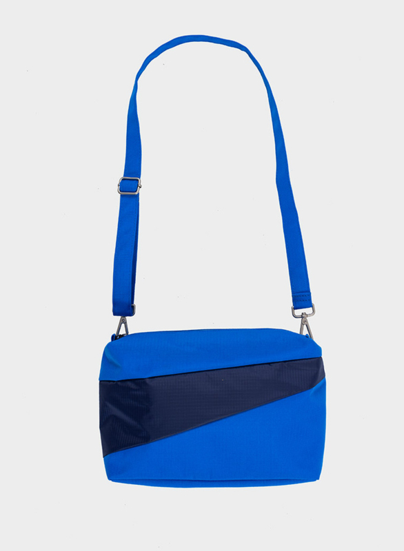 Bum Bag Blue & Navy - S