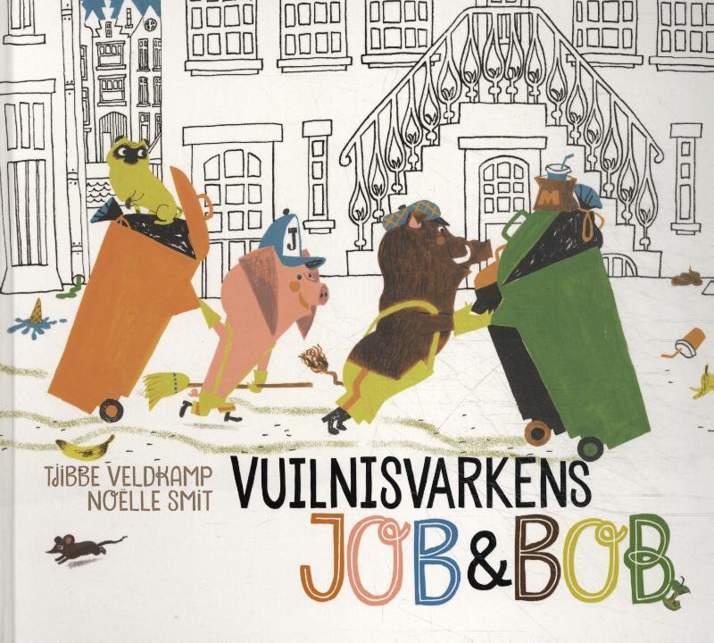 Vuilnisvarkens Job & Bob - peuters