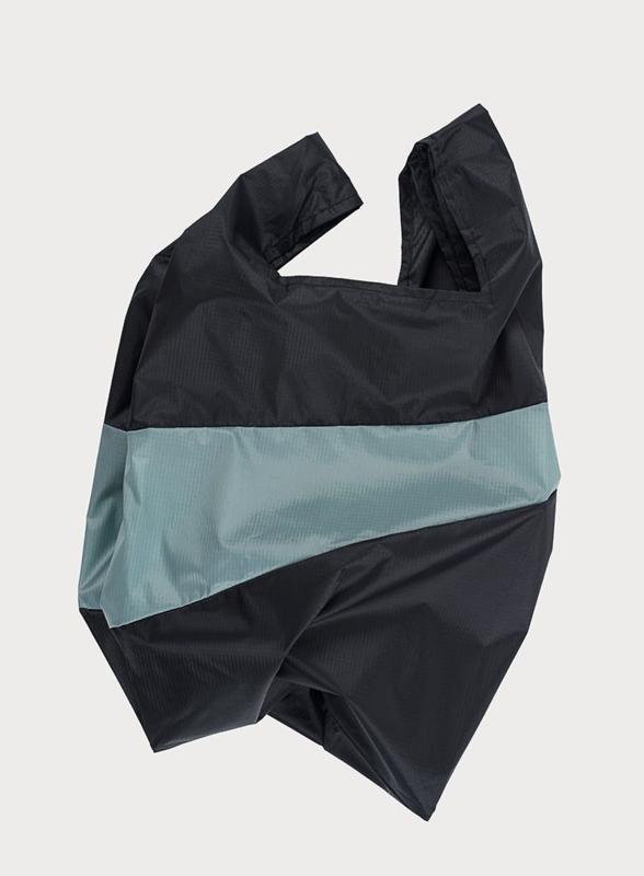 Shopping Bag Black & Grey - L
