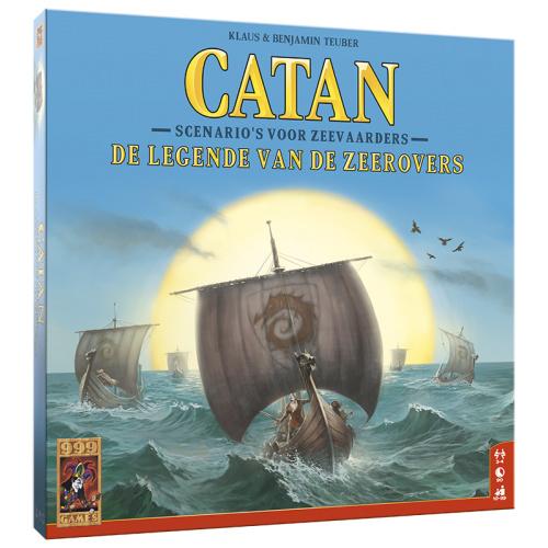 Catan: De legende van de zeerovers - Bordspel