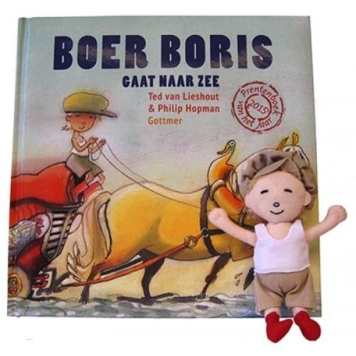 Boer Boris gaat naar zee - met vingerpopje