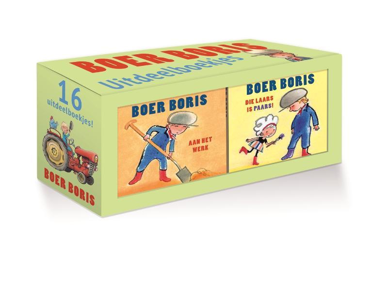Boer Boris uitdeelboekjes