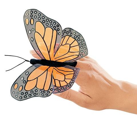Vlinder vingerpop
