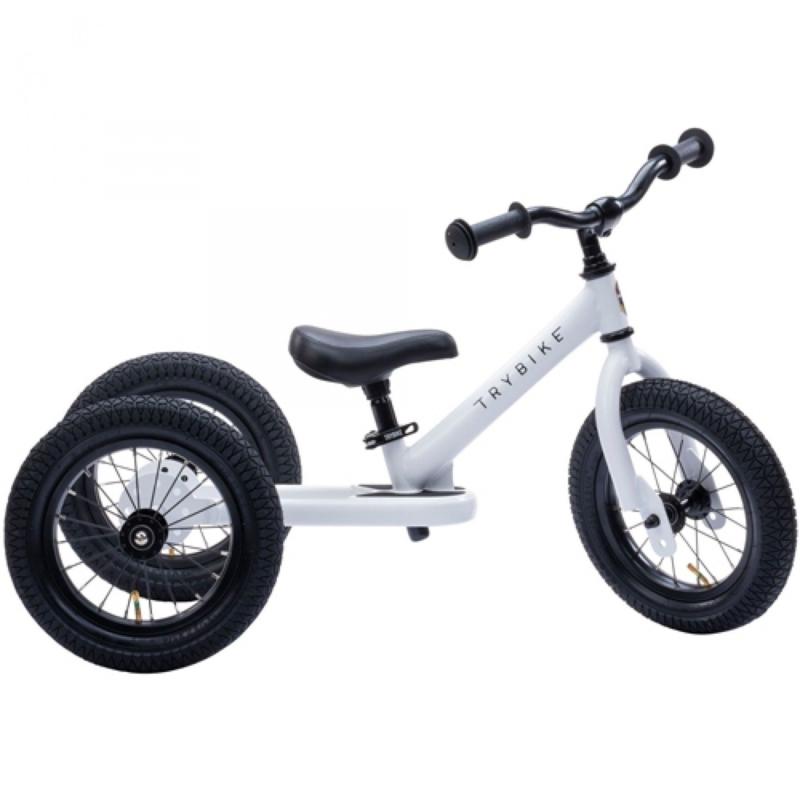 Trybike Steel 2-in-1 Loopfiets - Wit