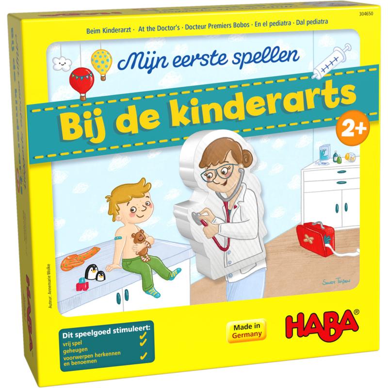 Bij de kinderarts (Mijn eerste spellen)