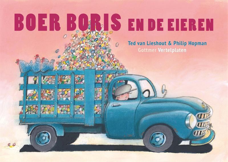 Boer Boris en de eieren vertelplaten