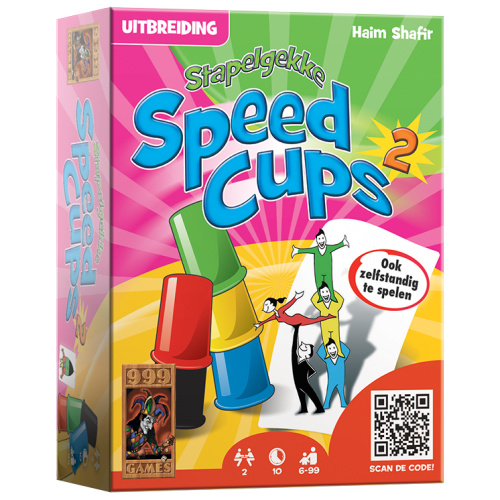 Stapelgekke Speed Cups 2 spelers - Actiespel