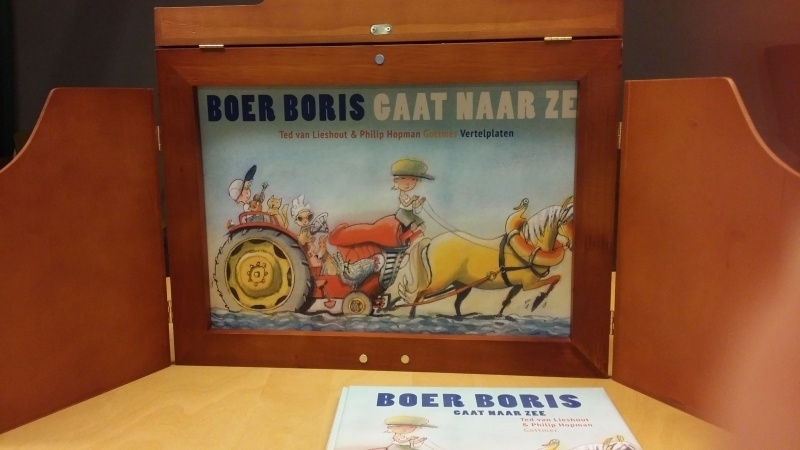 Kamishibai Theater + vertelplatenset Boer Boris