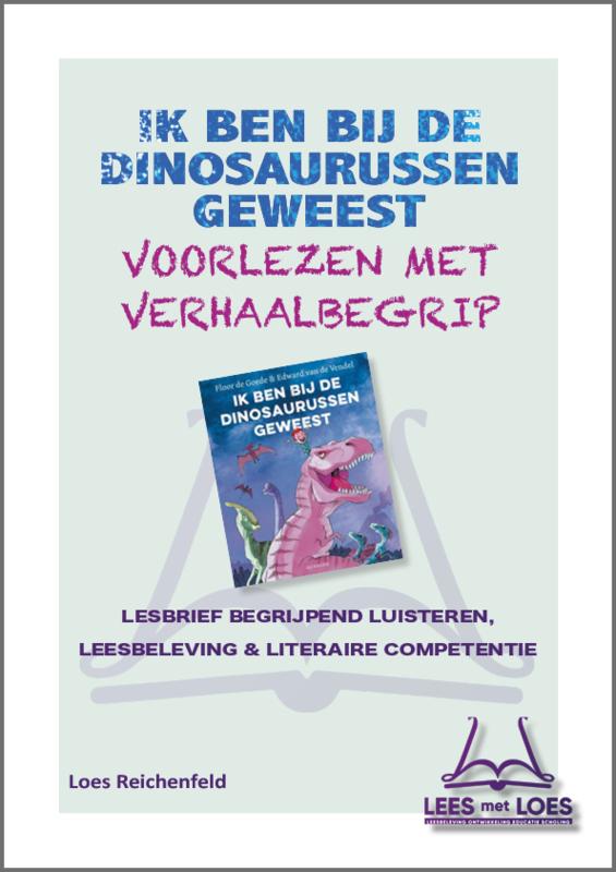 Lesbrief Ik ben bij de dinosaurussen geweest