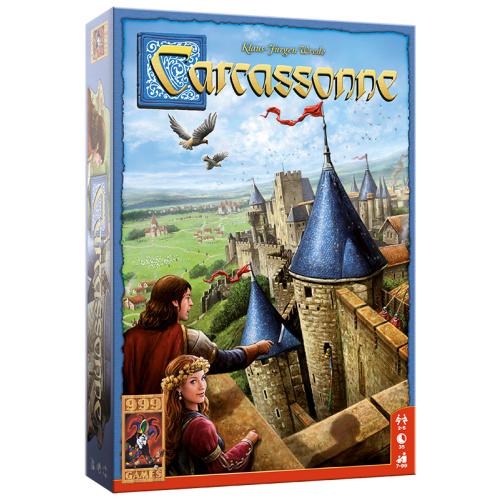 Carcassonne Basisspel - Bordspel