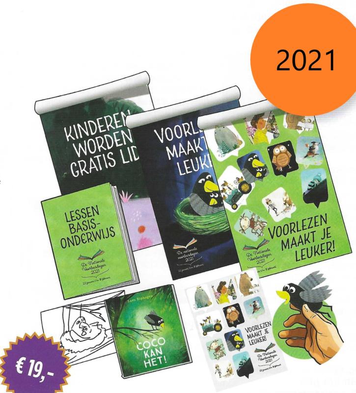 Lespakket Nationale Voorleesdagen 2021