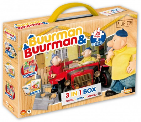 Buurman en Buurman 3 in 1 box 4-6