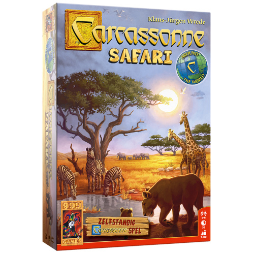Carcassonne: Safari - Bordspel