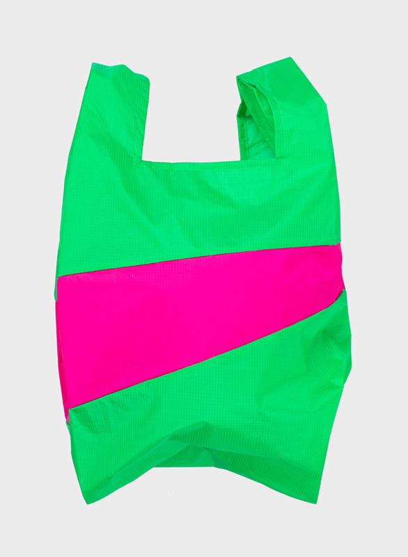 Shopping Bag Greenscreen & Pretty Pink - L