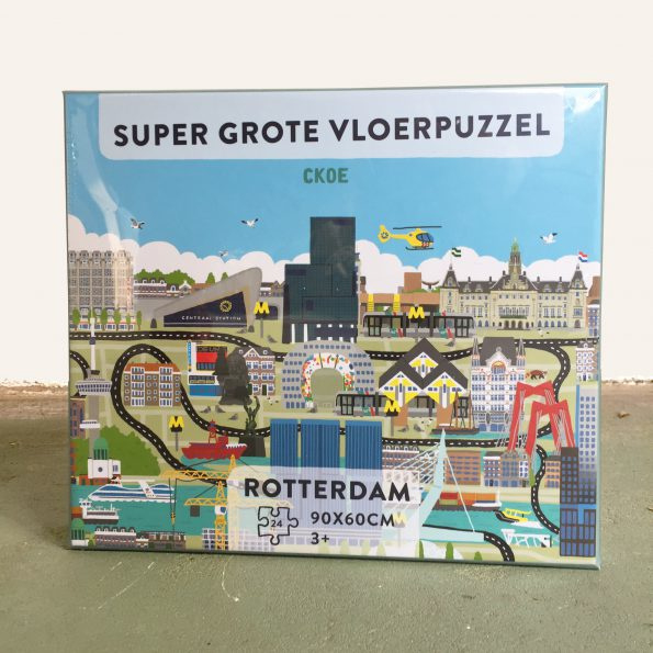 Vloerpuzzel Rotterdam