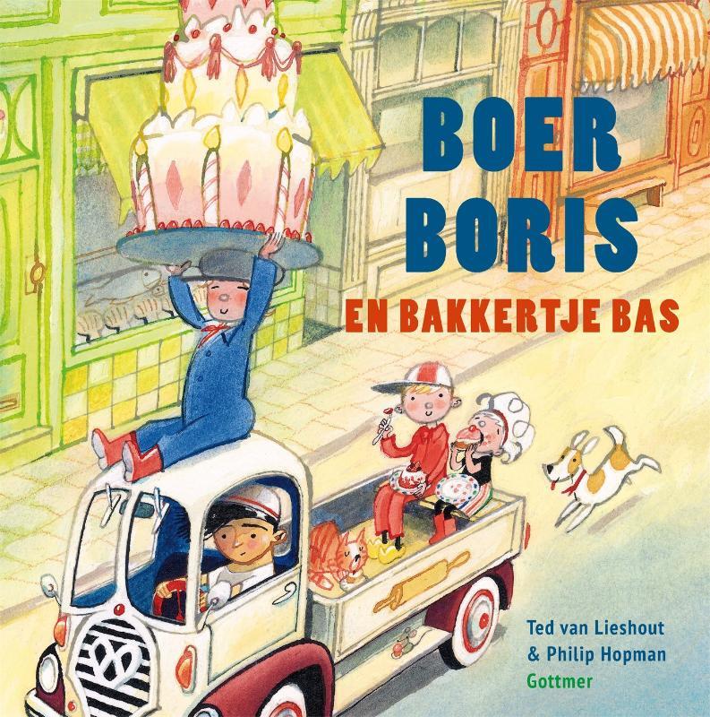Boer Boris en bakkertje Bas - groep 1 - leverbaar juni
