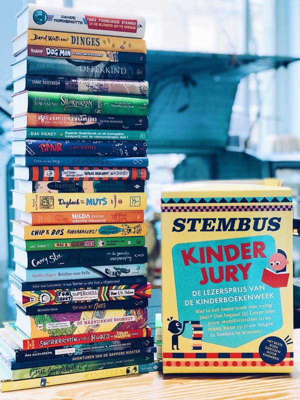 Pakket kinderjury boeken groep  6-7-8