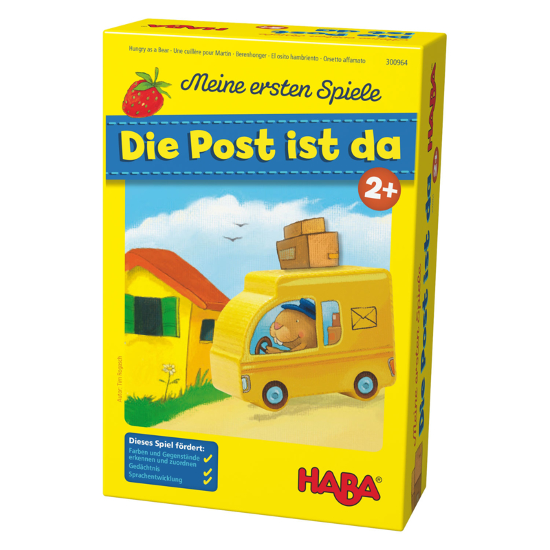 Post spel Haba